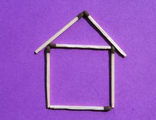 Free House Of Matches Stock Photography - 14774252