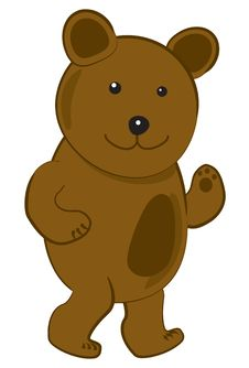 Free Vector Illustration Of A Bear Stock Image - 14774441