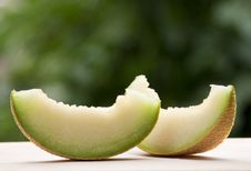 Free Melon Slices Royalty Free Stock Photography - 14774677