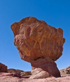 Free Stones Of Desert Royalty Free Stock Image - 14776236