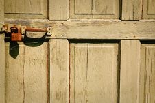 Door And Lock Stock Image