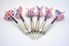 Free Darts Royalty Free Stock Photography - 14776887