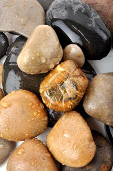 Free Spa Stones Royalty Free Stock Photography - 14777097