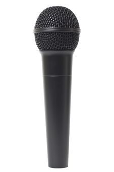 Free Microphone On White Background Royalty Free Stock Image - 14777386