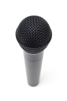 Free Microphone On White Background Royalty Free Stock Photos - 14777468