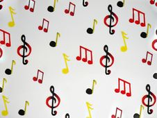 Free Music Note Background Stock Photography - 14777702