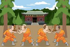 Free Kung Fu Scene Pt.2 Royalty Free Stock Photos - 14777778