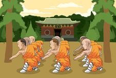 Free Kung Fu Scene Pt.3 Stock Image - 14777791
