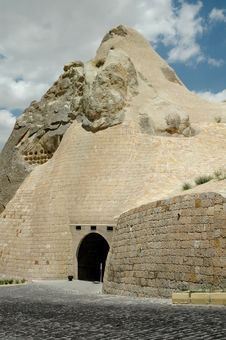 Free Ancient Cavetown Near Goreme, Cappadocia, Turkey Royalty Free Stock Images - 14778149