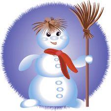 Free Snowman Royalty Free Stock Photo - 14778685