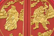 Free Thai Art Window Stock Images - 14779054