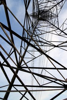 Free Electric Tower Against Stock Photo - 14779220