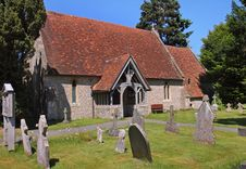 Free An English Village Church And Graveyard Royalty Free Stock Image - 14779326