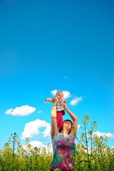 Free Baby Flying High Stock Photos - 14779703