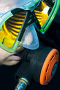 Free Scuba Divers Face, Mask And Fish Reflection Royalty Free Stock Image - 14780346
