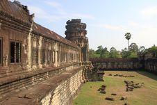 Free Angkor Wat External Wall Royalty Free Stock Photos - 14780108