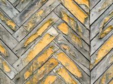 Free Old Parquet. Stock Images - 14780574