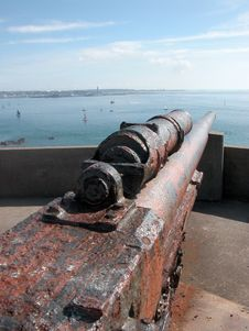 Free German Guns On Jersey Stock Photos - 14780733