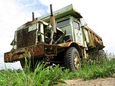 Free Big Old Dump Truck Stock Photos - 14780773
