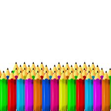 Free Crowd Of Pencils Royalty Free Stock Photo - 14781025