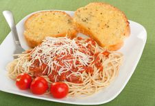 Free Spaghetti Dinner Royalty Free Stock Image - 14781176