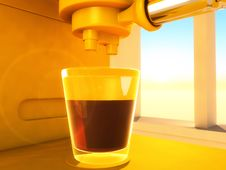 Free Coffee-maker Royalty Free Stock Photography - 14781447