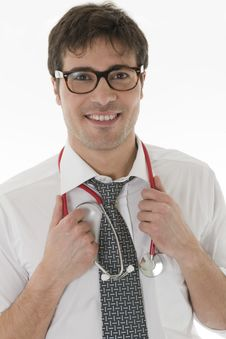 Free Male Doctor Stock Photography - 14782162