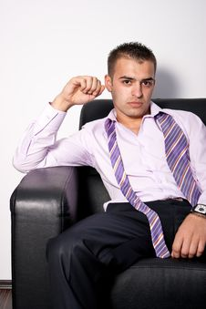 Free Young Business Man Royalty Free Stock Photos - 14782648