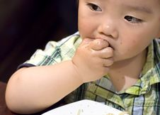 Free Eating Baby Stock Image - 14783031