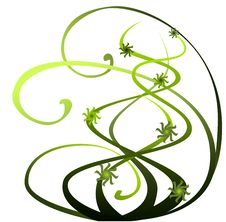 Free Green Abstract Design Element Royalty Free Stock Photography - 14783347