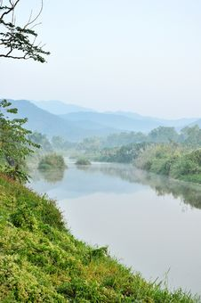 Free River In The Valley Royalty Free Stock Image - 14783856
