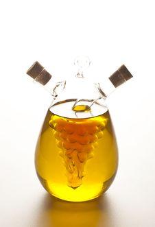 Oil And Vinegar Bottle Stock Image