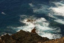 Free The Athlantic Coast Of Tenerife Stock Photo - 14784380