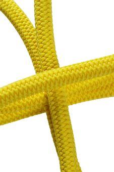 Free Yellow Rope Royalty Free Stock Photo - 14784565