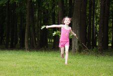 Free Girl In A Park Stock Photos - 14784963