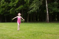 Free Girl In A Park Stock Photos - 14785253