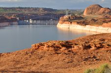 Free Lake Powell And Glen Canyon Dam Royalty Free Stock Photo - 14785415
