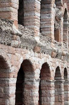 The Arena Colosseum In Verona, Italy Stock Image