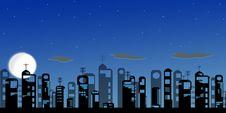 Free Night Modern City Stock Photo - 14786020