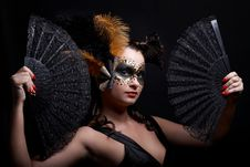 Free Masked Woman Royalty Free Stock Photo - 14786445