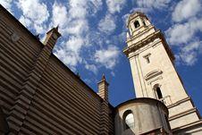 The Duomo Church Bell Tower In Verona, Italy Stock Photo