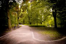 Free Paths In The Park Stock Photo - 14787090