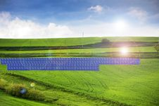 Free Solar Panels Royalty Free Stock Photography - 14787147