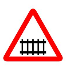 Free Road Sign Railroad Royalty Free Stock Images - 14787409