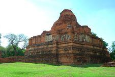 Free Temple Ayuttaya Thailand Royalty Free Stock Images - 14787589