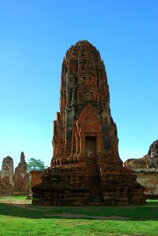 Free Mahatad Temple Ayuttaya Thailand Royalty Free Stock Photos - 14787648