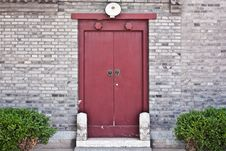 Free Red Door Royalty Free Stock Photography - 14787937