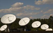 Free Satellite Farm Royalty Free Stock Photo - 14787965