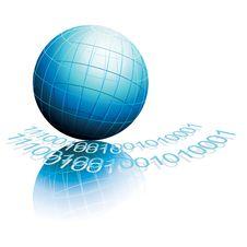 Free Blue Globe Royalty Free Stock Image - 14788056