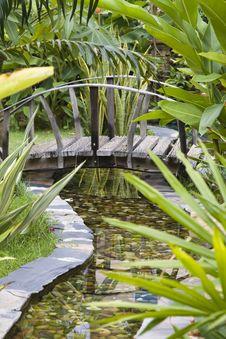 Free Garden Bridge Stock Images - 14788194